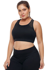 plus size Active L / AUS 14 / Black Venus Active Crop