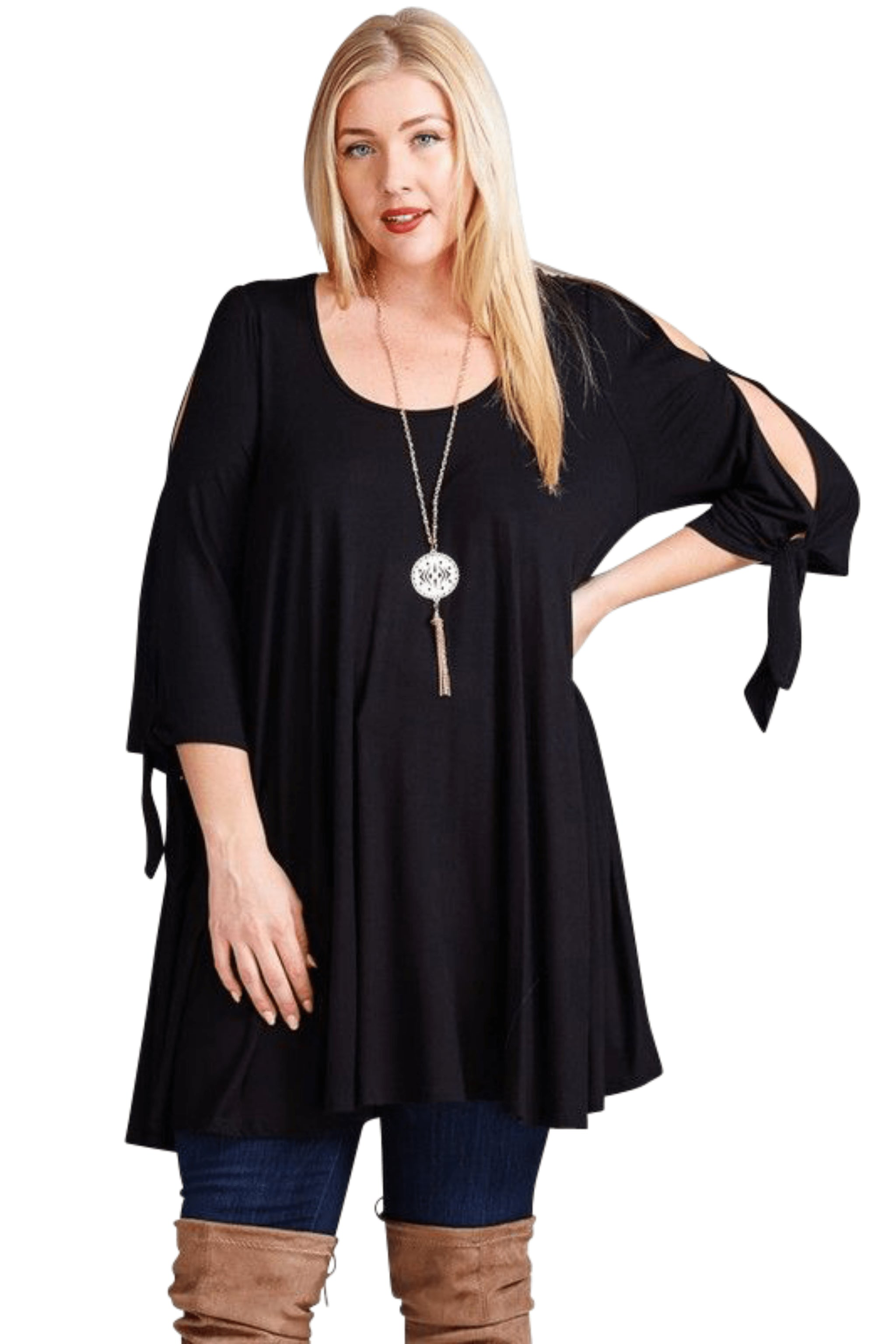 plus size Blouse & Shirt aa. Abby Tunic Top