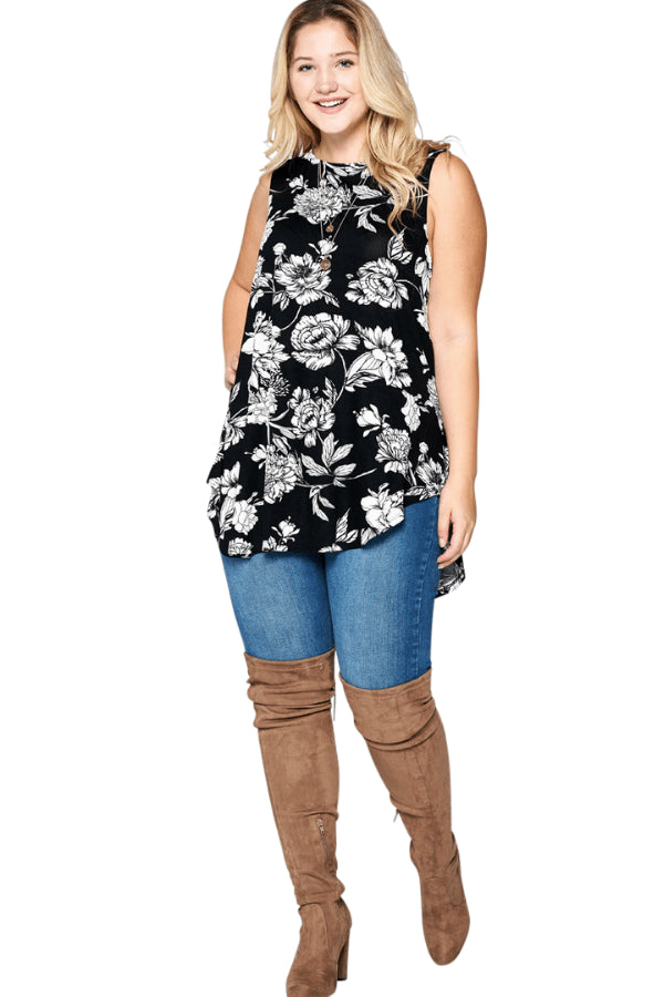 plus size Blouse & Shirt aa. Ivy Sleeveless Top