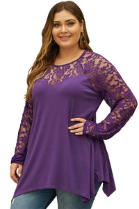 plus size Blouse & Shirt aa. Reina Top - Purple