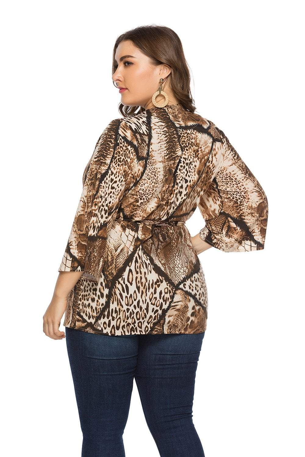 plus size Blouse & Shirt Into The Wild Top