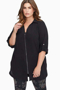 plus size Blouse & Shirt XL / AUS 14 - 16 / Black Mindy Blouse