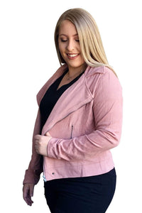 plus size Jacket XL / AUS 16 Ella Suede Jacket