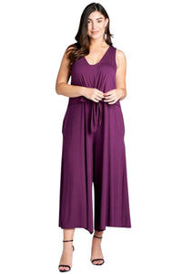 plus size Jumpsuit XL / AUS 16 / Purple aa. Hallie Jumpsuit - Purple