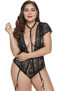 plus size Lingerie Bella Bodysuit