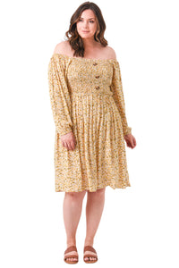plus size Long Sleeve Dress aa. Cassie Dress