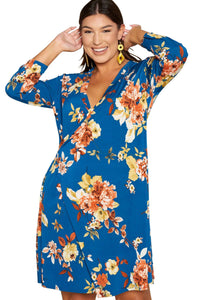 plus size Long Sleeve Dress aa. Francis Dress
