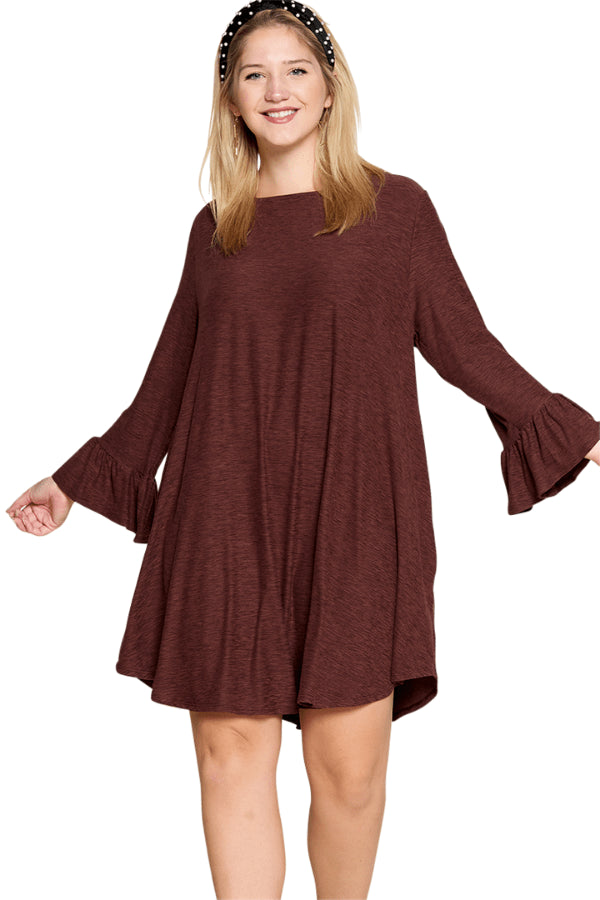 plus size Long Sleeve Dress aa. Stella Dress