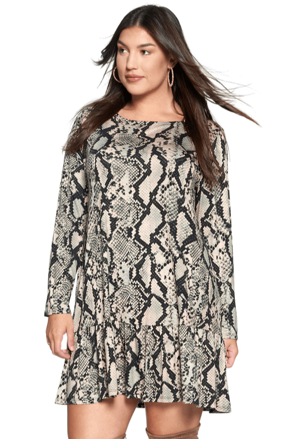 plus size Long Sleeve Dress aa. Victoria Dress