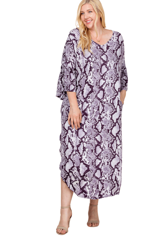 plus size Long Sleeve Dress Georgie Dress