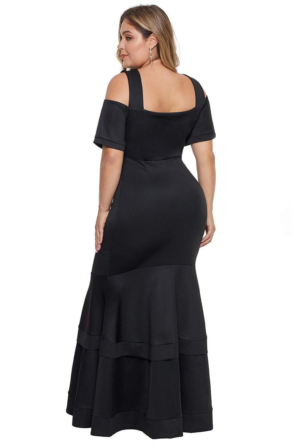 plus size Maxi Dress aa. Ariel Gown