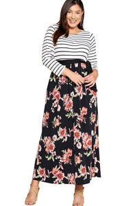 plus size Maxi Dress aa. Davina Dress