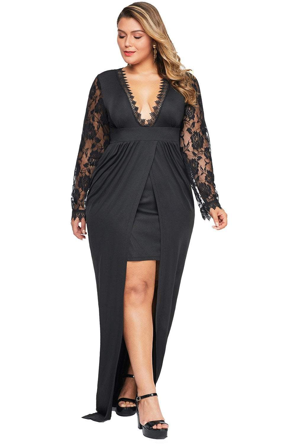 plus size Maxi Dress aa. Remi Dress