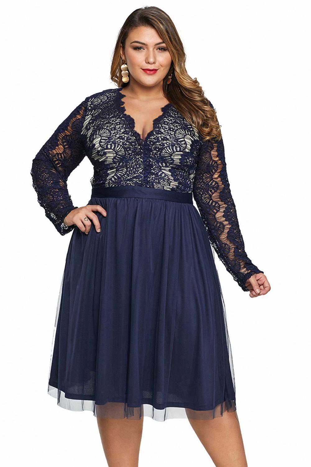plus size Midi Dress aa. Eliza Dress