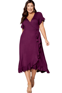 plus size Midi Dress aa. Larissa Dress