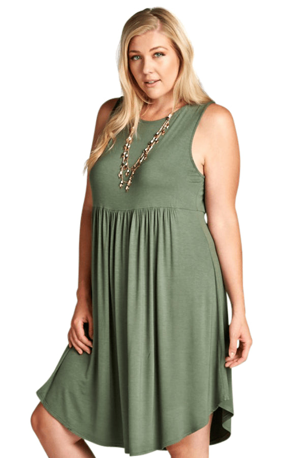 plus size Midi Dress aa. Sadie Dress