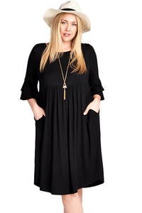 plus size Midi Dress Kelly Dress