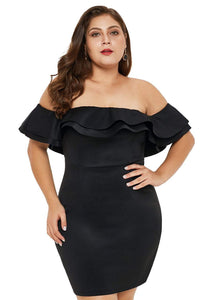 plus size Mini Dress aa. Isabelle Mini Dress