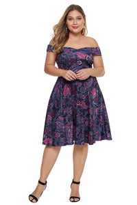 plus size Off Shoulder Dress Emelia Dress