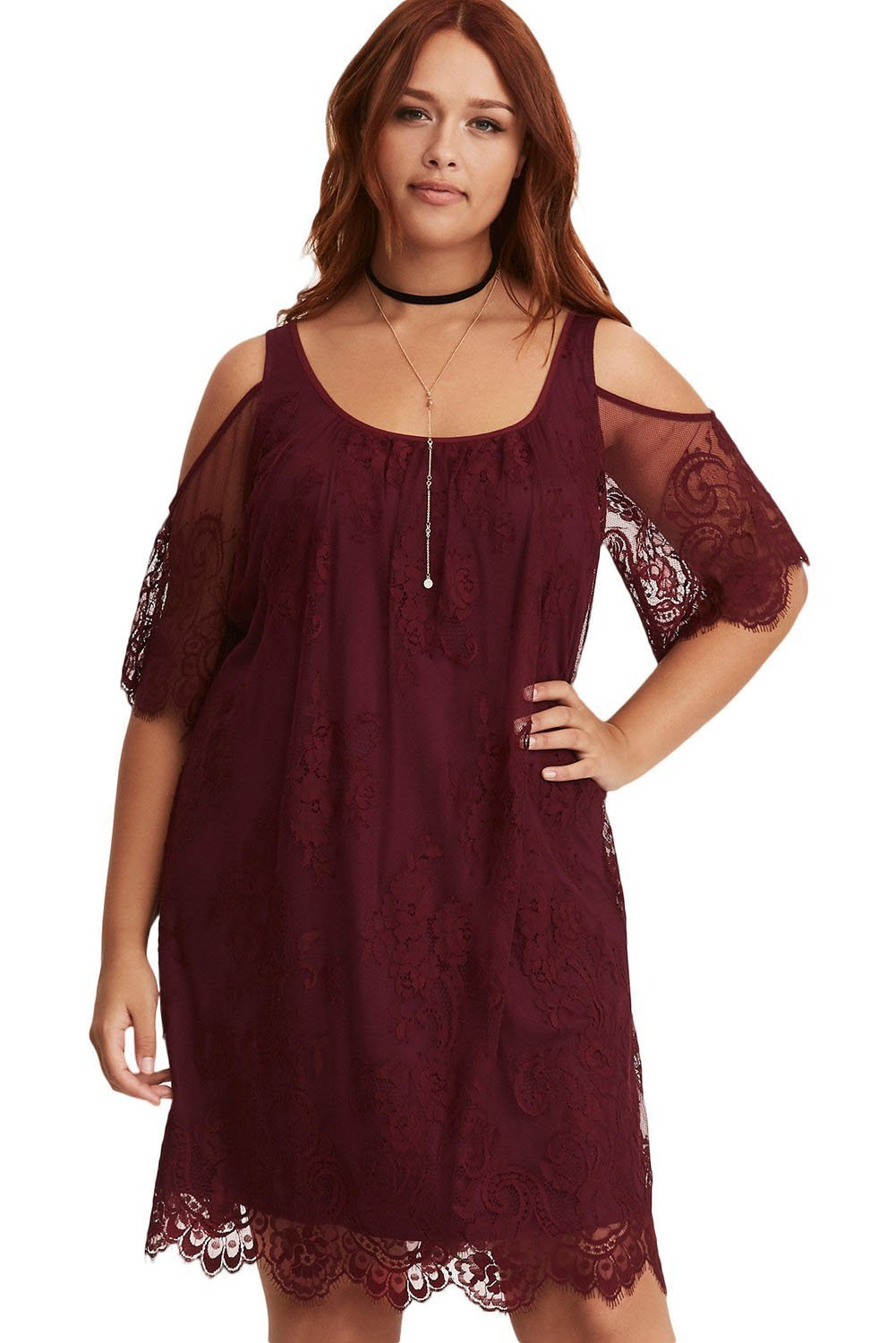 623d449c5abd plus size Off Shoulder Dress XL   AUS 14 - 16   Wine Red zzz. ...