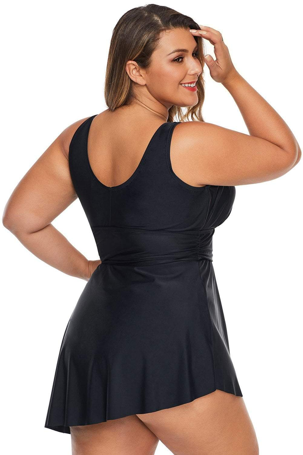 plus size One Piece Keira Swim Dress