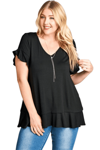 plus size T-Shirt aa. Lottie Tee