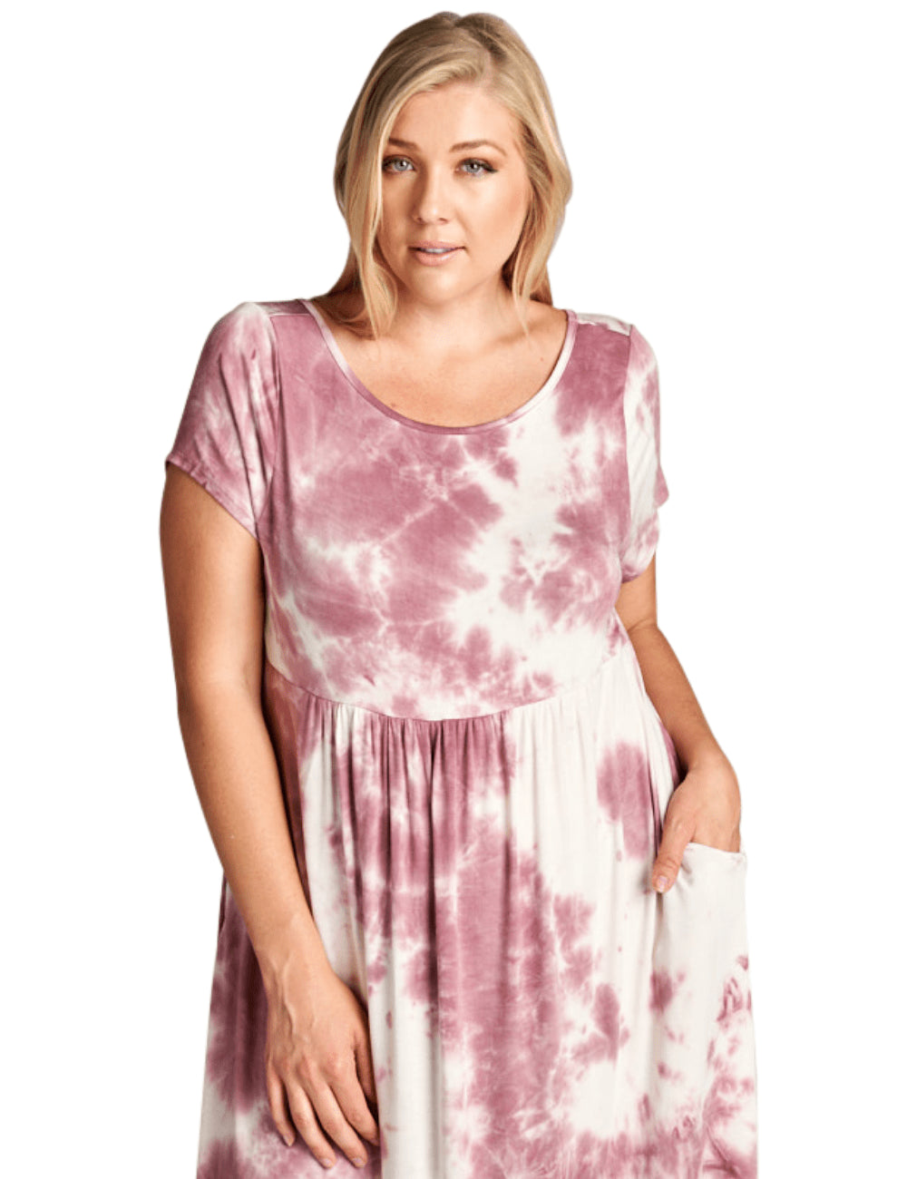 plus size T-Shirt Dress XL / AUS 14 - 16 / Pink Delilah Dress