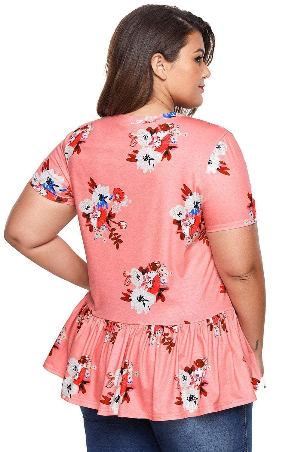 plus size T-Shirt XL / AUS 18 - 20 Gemma T-Shirt - CLEARANCE