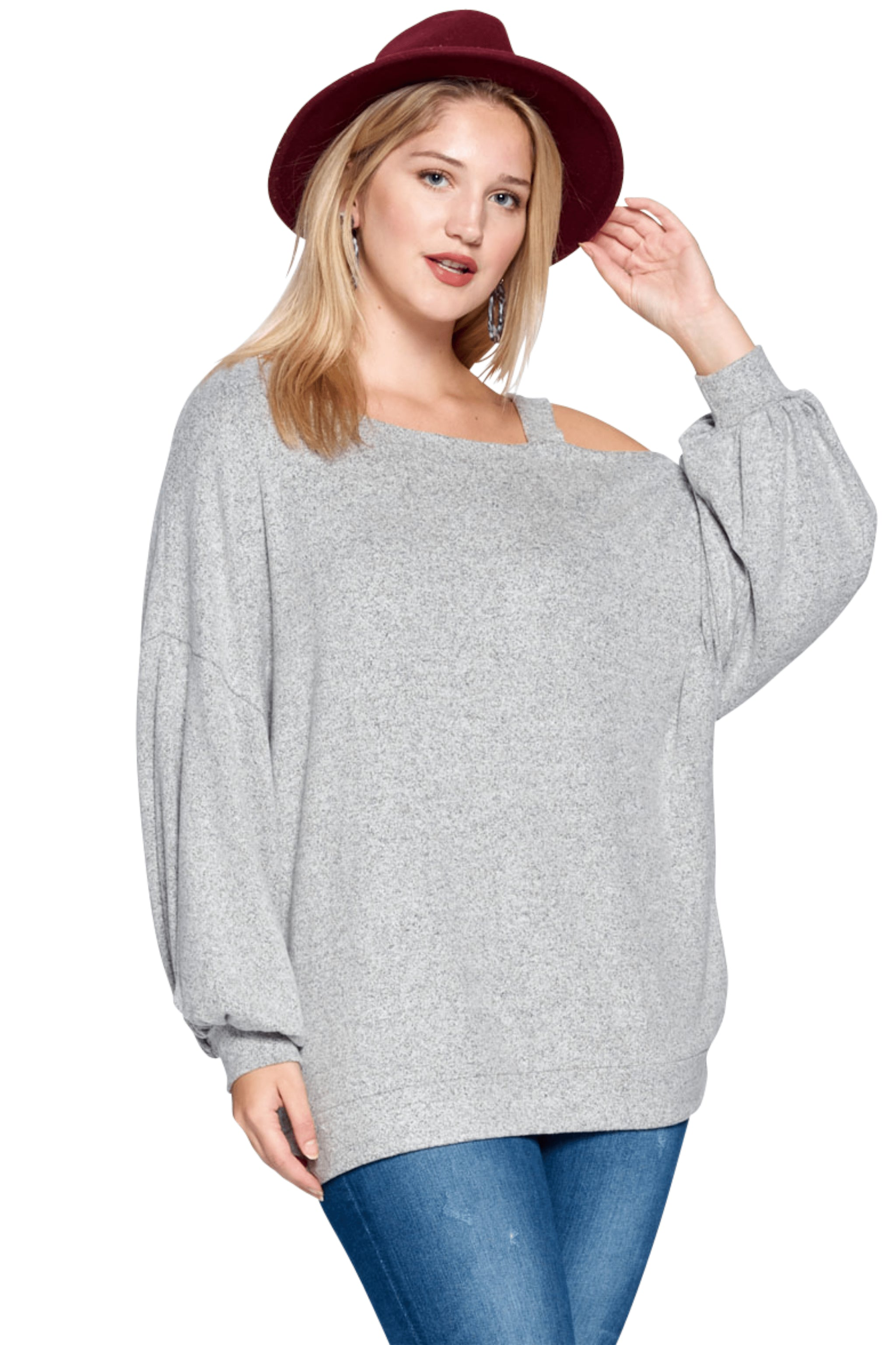 plus size Tops aa. Fiona Knit Top