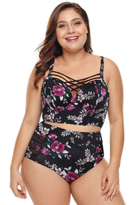 plus size Two Piece aa. Sarita High Waist Bikini