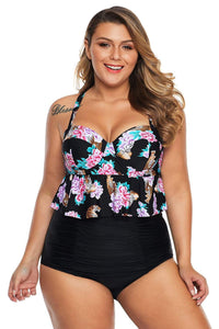 plus size Two Piece Gigi High Waist Bikini