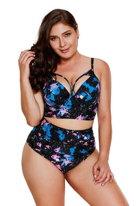 plus size Two Piece L / AUS 14 - 16 Galaxy High Waist Bikini