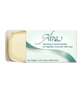 Alra Moisturizing Unscented All Vegetable Mild Soap - 120 gm