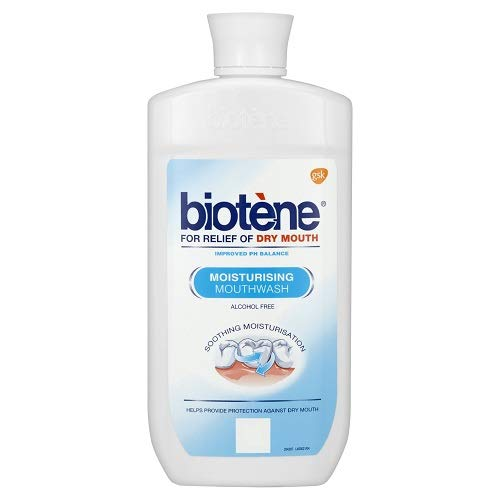Biotene Moisturizing Mouthwash 500 ml - For Dry Mouth During Cancer Treatment