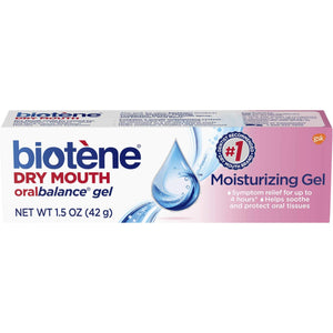 Biotene Mouth Moisturizing Gel - For Dry Mouth During Cancer Treatment - 42 gms
