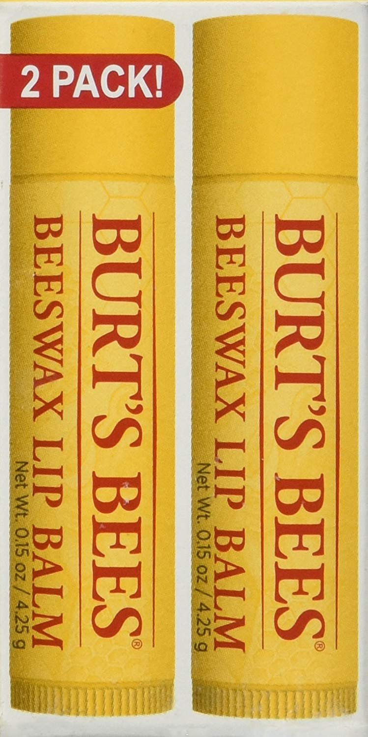 Burt's Bees Balm - Lip Beeswax - Pack of 2