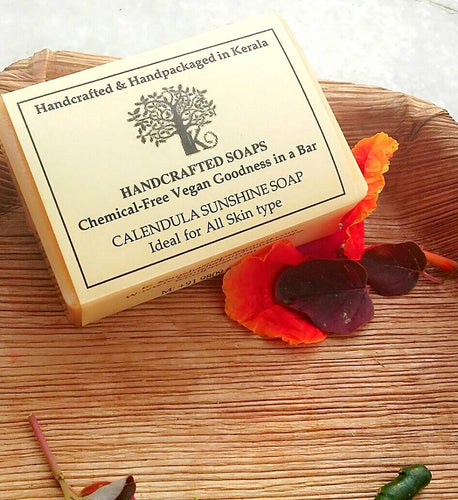 Calendula Handmade Soap For Dry Skin