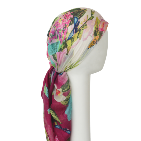 Chemo Silk Headscarf - 100% SILK