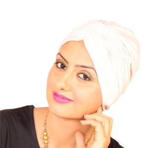 Chemo Slub Effect Turban For Women