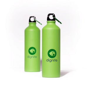 Dignite 750ml Aluminium Travel Water Bottle