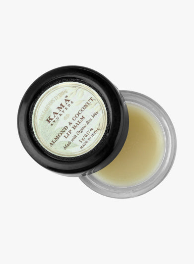 Kama Ayurveda - Coconut & Almond Lip Balm - For Dry Lips
