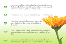 Miaderm Radiation Relief - Calendula Soap - 113 gm