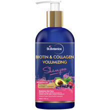 St Botanica Biotin & Collagen Volumizing Hair Shampoo (No Sulphates, No Parabens, No Silicon)