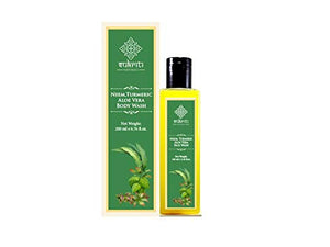 Sukriti Neem Turmeric Aloe Vera Body Wash - 200 ml