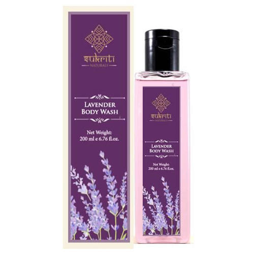 Sukruti Lavendar Body Wash - 200 ml