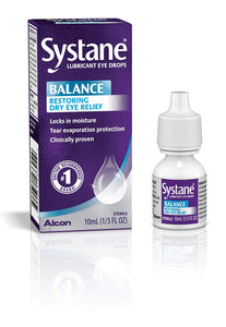 Systane Balance Lubricant Eye Drops for Dry Eyes- 10 ml