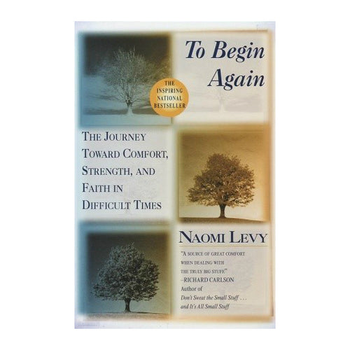 To Begin Again: The Journey Toward Comfort, Strength, and Faith in Difficult Times, by Naomi Levy