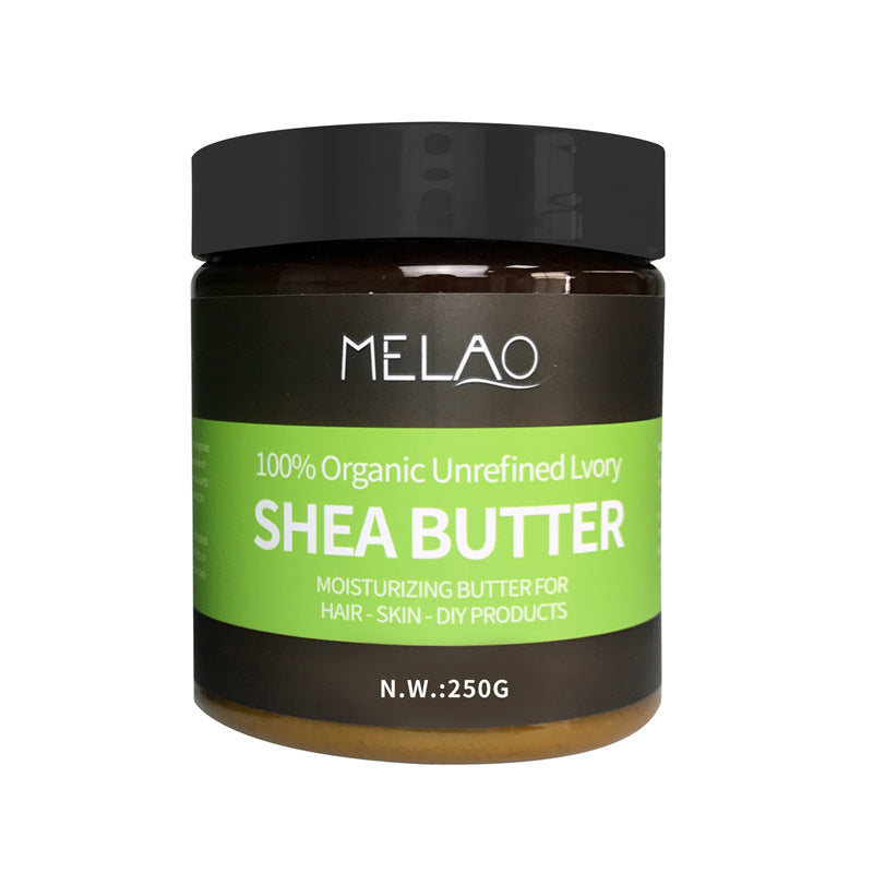 Organic Natural Shea Butter Oil Cream Unrefined Lvory Moisturizing For Hair Dry Skin Sunscreen 250gm