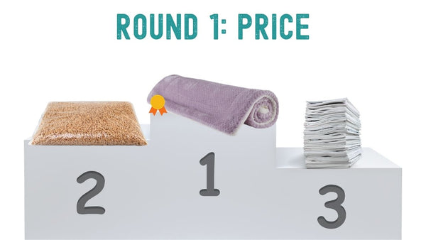 what is the most affordable bedding for guinea pigs