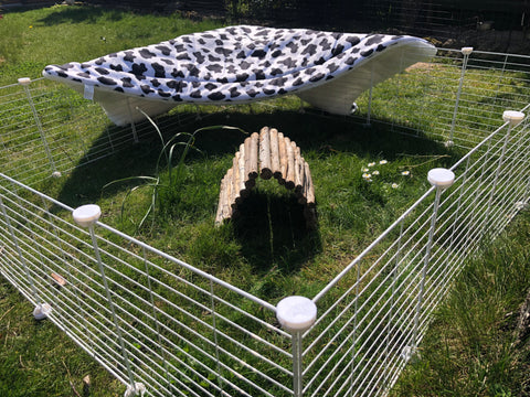 air dry fleece liner C&C cage outside guinea pig kavee